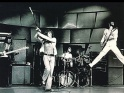 The Who live, zleva John Entwistle, Roger Daltrey, Keith Moon a Pete Townshend, 1. pol. 70. let