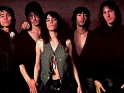 Patti Smith Group,, zleva Ivan Kral, Lenny Kaye, Patti Smith, Bruce Brody, Jay Dee Daugherty, 1978
